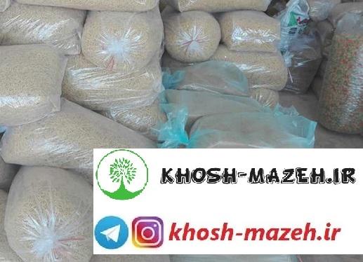 قیمت روز انواع ماکارونی بسته بندی شده و فله