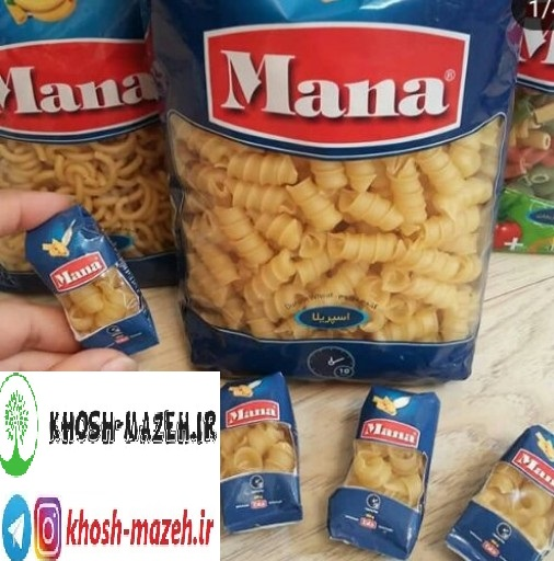 نمایندگی فروش ماکارونی مانا